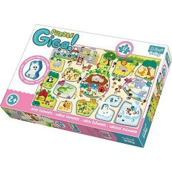 Puzzle GIGANTIC 12 el. Zoo