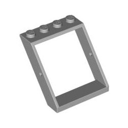 LEGO Part 4447 Frame Skylight 4x4x3/45°