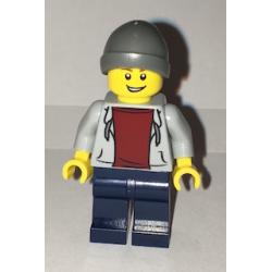 lego CTY654 minfigurka mężczyzna w czapce
