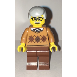 lego CTY659 minfigurka Dziadek-Grandfather