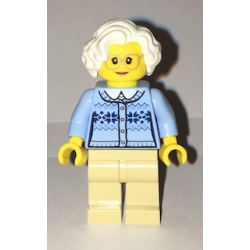 lego CTY660 minfigurka Babcia - Grandmother
