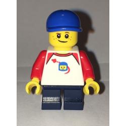 lego cty62 minfigurka Chłopiec z piegami - Boy, Freckles
