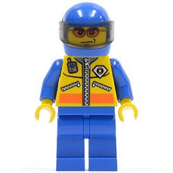lego CTY063 minfigurka Motocyklista - Motorcyclist