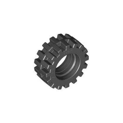 LEGO Part 87414 Tyre High Narrow Ø15 X 6