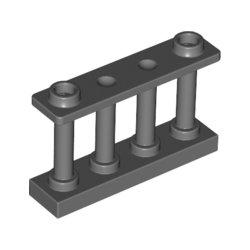 30055 Fence 1x4x2 W. 2 Knobs