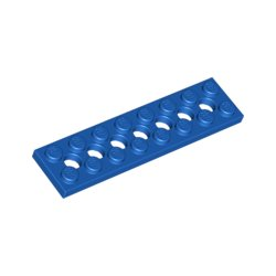 LEGO Part 3738 Plate 2x8 W. Holes