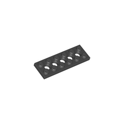 LEGO Part 32001 1plate 2x6 W. Holes