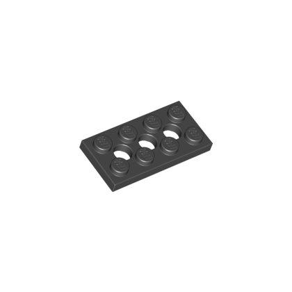 LEGO Part 3709 Plate 2x4, 3xØ4.9