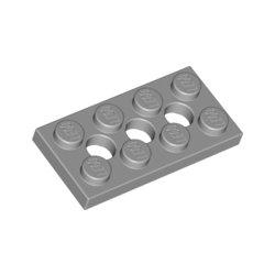 LEGO 3709 Plate 2x4, 3xØ4.9