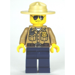 LEGO lego CTY0264 minfigurka Policjant leśny
