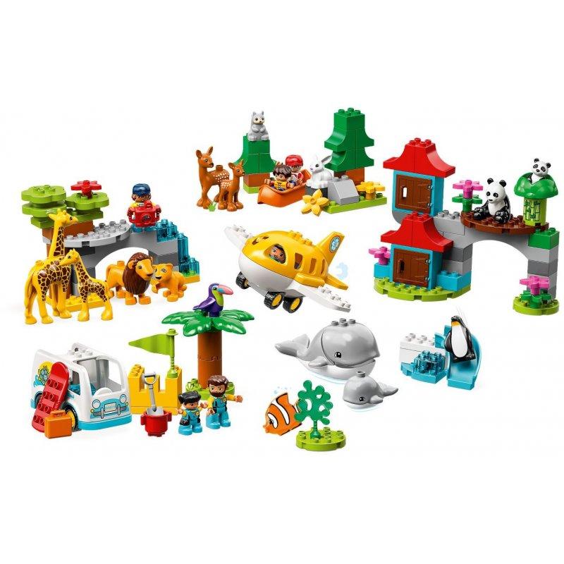 Lego 10907 Zwierzęta świata Klocki Lego Duplo Mojeklocki24