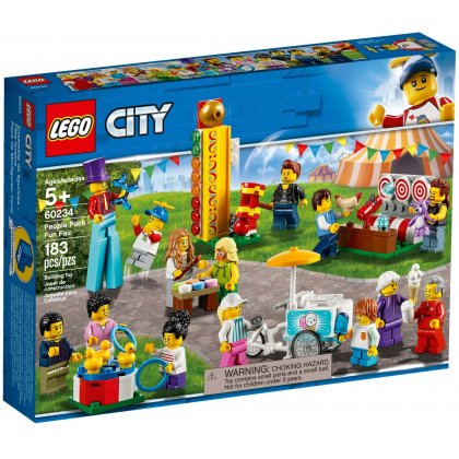 Lego 60234 Wesołe Miasteczko Zestaw Minifigurek Klocki Lego City