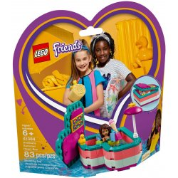 LEGO 41384 Andrea's Summer Heart Box
