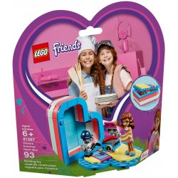 LEGO 41387 Olivia's Summer Heart Box