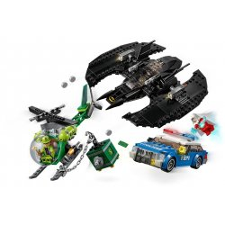 LEGO 76120 Batwing i napad Człowieka - zagadki