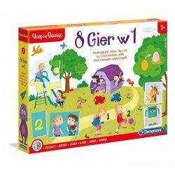 Edukacyjny zestaw gier 8w1