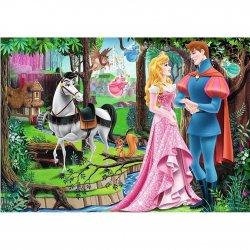 Puzzle 200 el. Księżniczki- Spotkanie w lesie