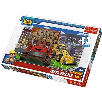 Puzzle Maxi 24 el. Bob Budowniczy