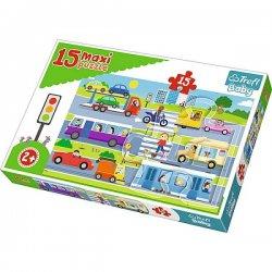 Puzzle Maxi 15 el. 14279 Pojazdy miejskie