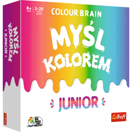 Colour Brain. Myśl kolorami Junior - Gra