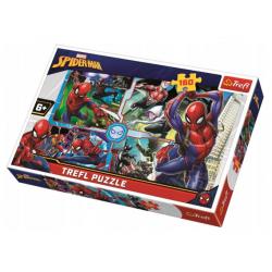 Puzzle 160 el. - Spider-Man na ratunek