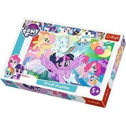 Puzzle 100 el. My Little Pony: Tęczowa kraina
