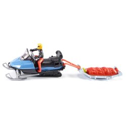 Siku - Snow mobile with rescue sledge 1684