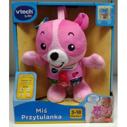 VTech - Miś Przytulanka różowy 61067
