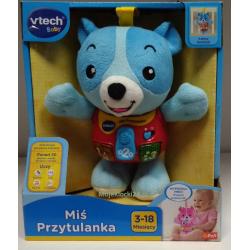 VTech - Miś Przytulanka niebieski 61066