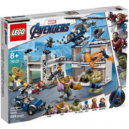 LEGO 76131 Bitwa w kwaterze Avengersów