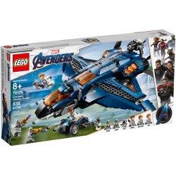 LEGO 76126 Wspaniały Quinjet Avengersów