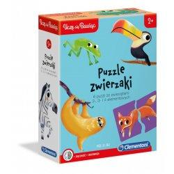 Puzzle Zwierzaki 2, 3, 4 el.