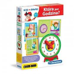Uczę się bawiąc - Która jest godzina?