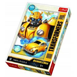 Puzzle 100 el. Transformers: Bumblebee transformacja