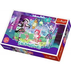 Puzzle 30 el. Mattel Enchantimals: Magiczny świat Enchantimals
