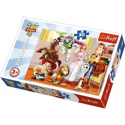 Puzzle 30 el. Toy Story: Gotowi do zabawy