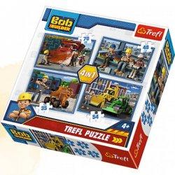 Puzzle 4w1 Bob Budowniczy
