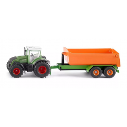 Siku Farmer - Traktor z podnośnikiem (1989)