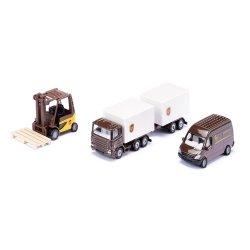 Siku Super: Zestaw podarunkowy - pojazdy logistyczne (6324