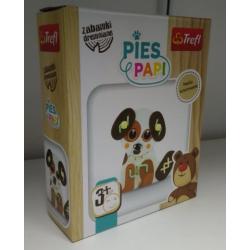 Drewniany Pies Papi 61129