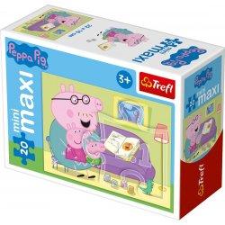 Puzzle mini maxi 20 el. Zabawy Świnki Peppy 21000 (56000)
