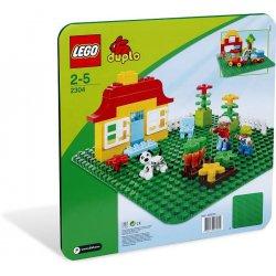 LEGO DUPLO 2304 Zielone Płytki budowlane
