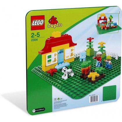 LEGO DUPLO 2304 Zielone Płytki bodowlane