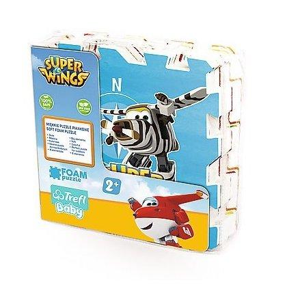 Układanka-puzzlopianka Mata - Super Wings