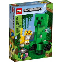 LEGO 21156 Minecraft BigFig — Creeper i ocelot