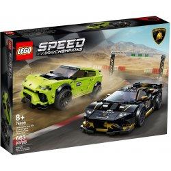 LEGO 76899 Lamborghini Urus ST-X i Lamborghini Huracán Super Trofeo EVO