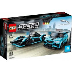 LEGO 76898 Formula E Panasonic Jaguar Racing GEN2 car i Jaguar I-PACE eTROPHY