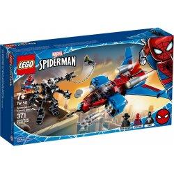 LEGO 76150 Pajęczy odrzutowiec kontra mech Venoma