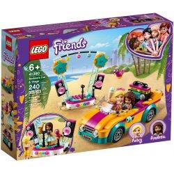 LEGO 41390 Samochód i scena Andrei