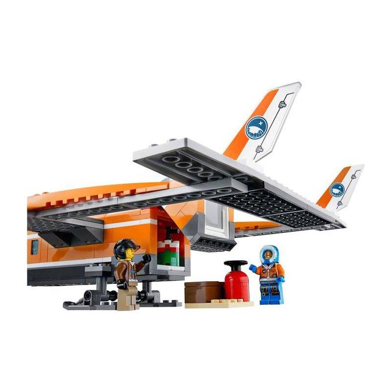 Lego 60064 Arktyczny Samolot Dostawczy Klocki Lego City Mojeklocki24